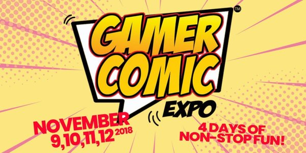 None - Win Tickets to Gamer Comic Expo!