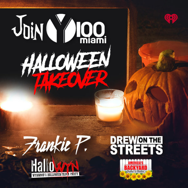 None - Y100 Halloween Takeover!
