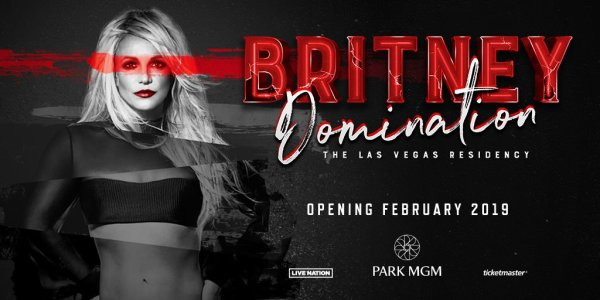 None - Win a trip to Las Vegas to see Britney Spear's Domination Residency!