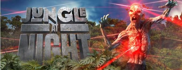 None - Win Tickets to Jungle at Night- Zombie Laser Tag