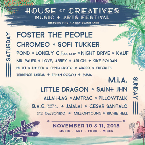 None - Win Tickets to House of Creatives Music Fest!
