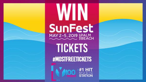 None - Win tickets to Sunfest Music Festival!