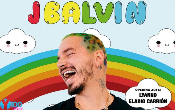 None - Win Tickets to J Balvin's Arcoíris Tour!