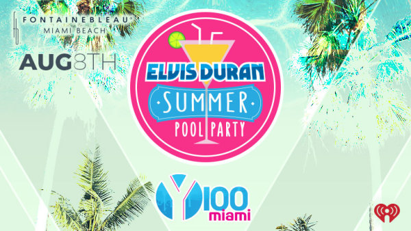 Elvis Duran Summer Pool Party!