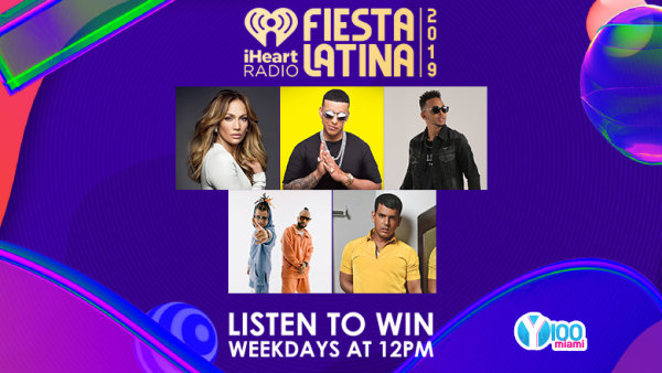 Win Tickets to iHeartRadio Fiesta Latina with Y100!