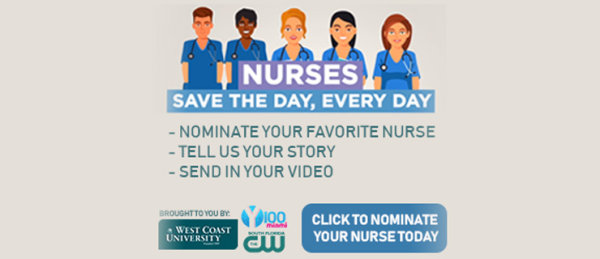 None - Nominate Your Favorite Nurse Today with West Coast University!