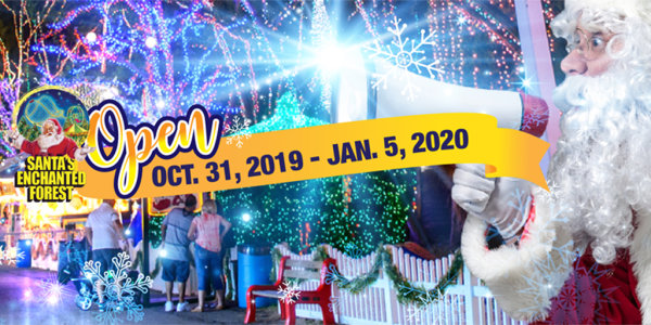 Win Tickets to Santa's Enchanted Forest!