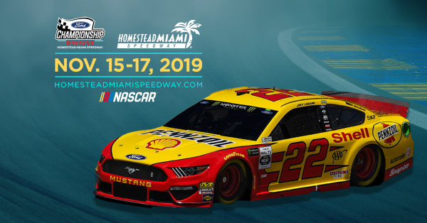 2019 Ford EcoBost 400 Homestead-Miami Speedway!