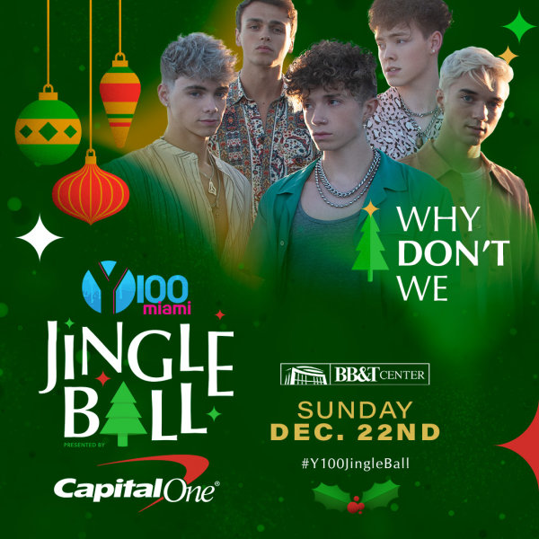 None - Meet Why Don't We at Y100 Jingle Ball!