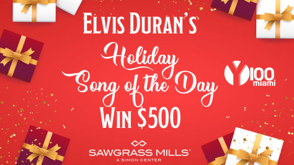 Elvis Duran's Holiday Shopping Song of the Day!