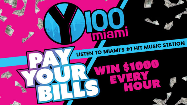 None - Listen to Win $1,000 Every Hour on Y100!