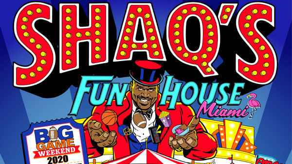 None - Win tickets to Shaq's Fun House!
