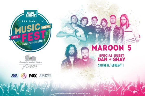 None - Bud Light Super Bowl Music Fest with Maroon 5!