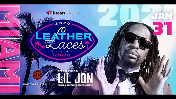 None - Leather & Laces AND the iHeartRadio Big Game Party!