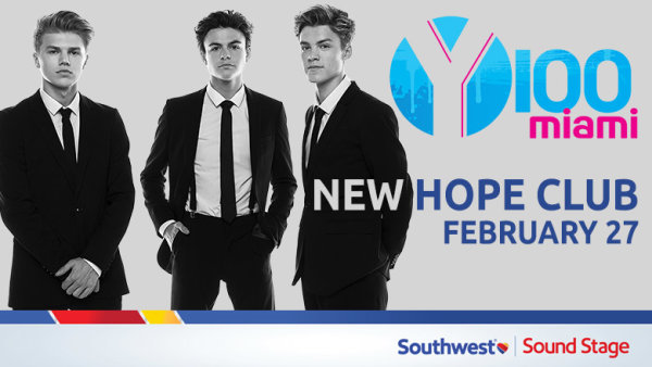 image for Meet New Hope Club in our Southwest Sound Stage!