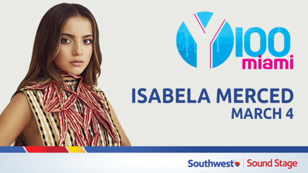 image for Hang with Isabela Merced in our Southwest Sound Stage!