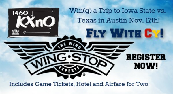 None - WINGSTOP presents FLY WITH CY!
