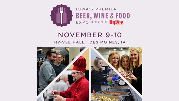 None -  Win Tickets to Iowa's Premier Beer, Wine and Food Expo!