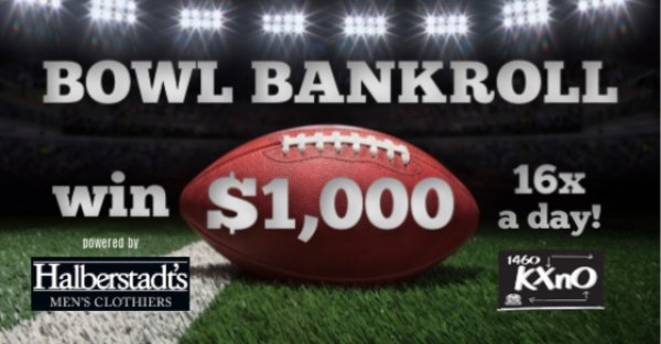None - Win $1,000 Bowl Bankroll 16X a Day!