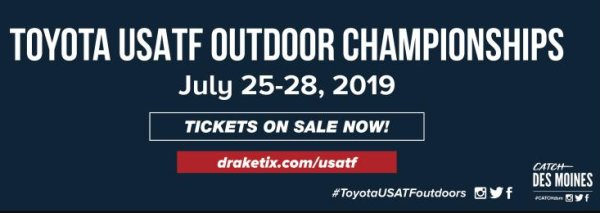 None - Win Tickets to the 2019 USA Track & Field Outdoor Championships