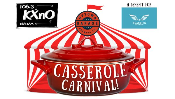 image for The KXnO Casserole Carnival, 3/1, at Uptown Garage, to Benefit The Guardian Project