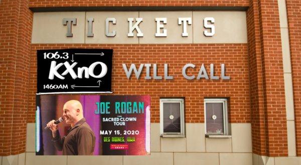 image for Win Tickets to Joe Rogan, 5/15 at Wells Fargo Arena!