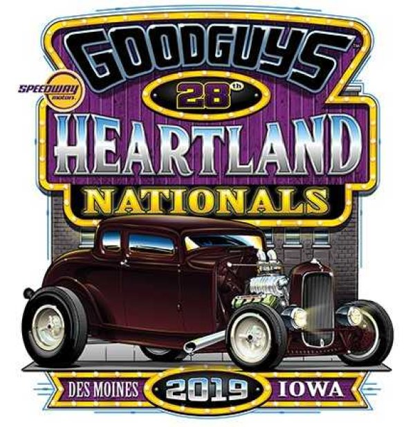 Enter Goodguys' 28th Speedway Motors Heartland Nationals Show and Shine Contest!