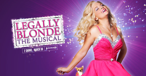 None - Win tickets to Legally Blonde: The Musical