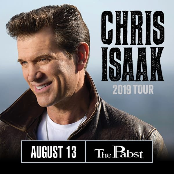 None - Win tickets to see Chris Isaak