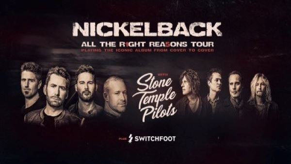None - Win tickets to Nickelback with Stone Temple Pilots and Switchfoot