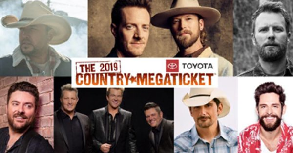 None - Win A Pair Of 2019 Country Megatickets