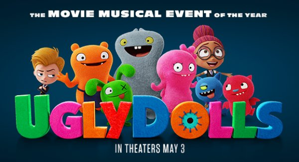 None - Ugly Dolls Movie Screening Contest