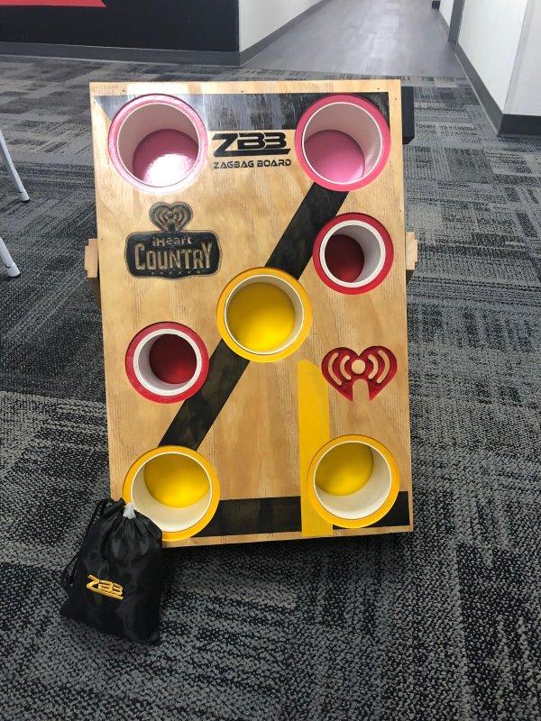 None - Win a ZagBag Board!