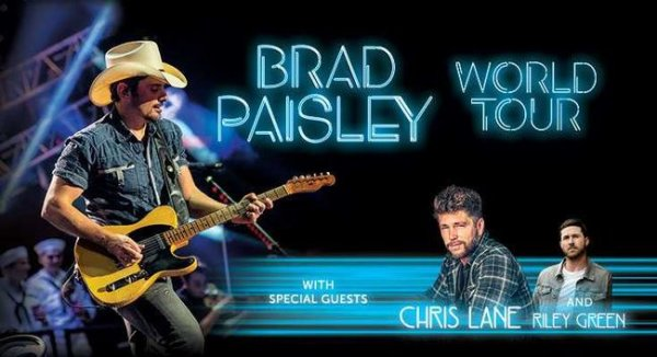None - Win Brad Paisley Tickets!