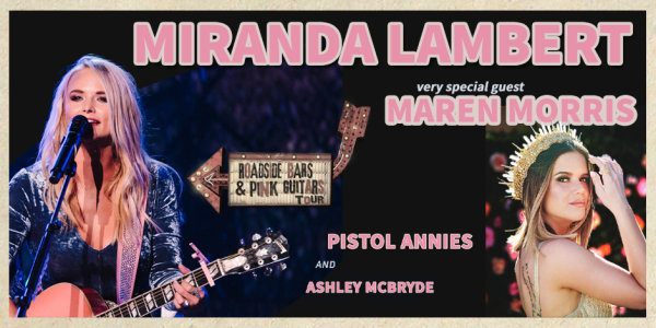None - Win Miranda Lambert Tickets!