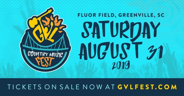 None - Win Tickets to the Greenville Country Music Fest!