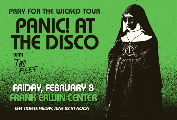 None - Win a pair of tickets to see Panic at the Disco!