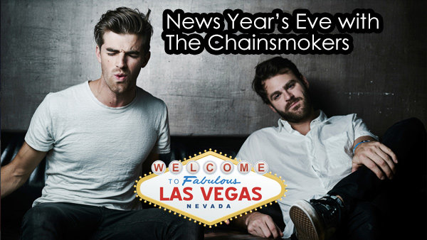 None - Win a trip for two to Vegas to meet The Chainsmokers on New Year's Eve!