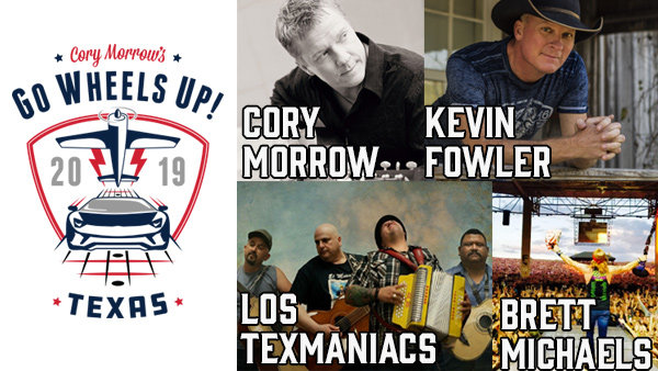 None - Win a pair of 3-day passes to Cory Morrow's Go Wheels Up Texas!