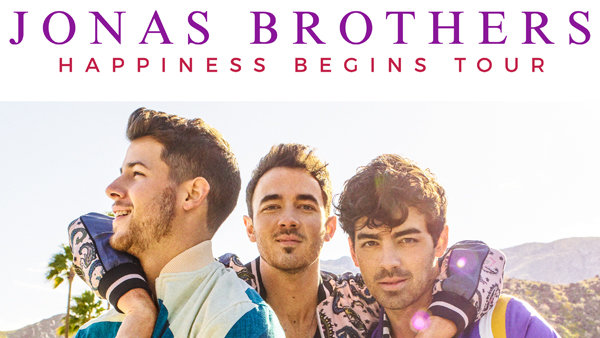 None -  Win a pair of tickets to see the Jonas Brothers at the AT&T Center on September 27th!