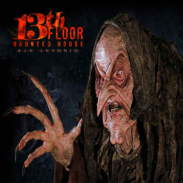 None - Win a four pack of single day tickets to 13th Floor Haunted House!