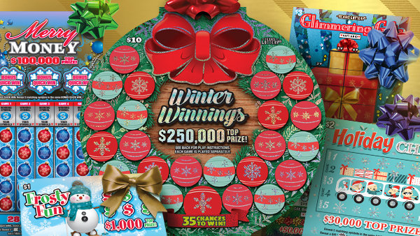 None - Enter to win Texas Lottery Holiday Scratch Tickets!