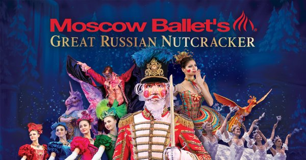 None - Win a four pack of tickets to Moscow Ballet's Great Russian Nutcracker!