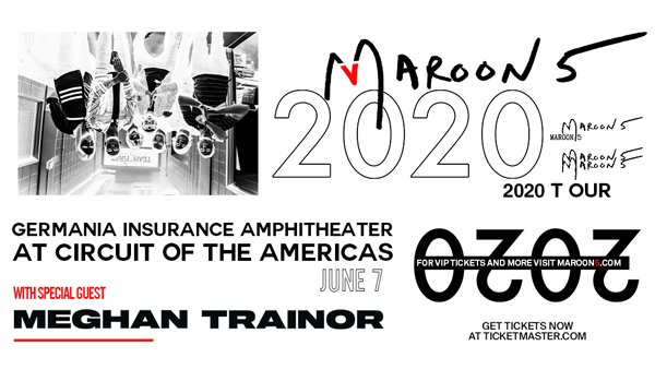image for Win tickets to see Maroon 5 at Germania Insurance Amphitheater!