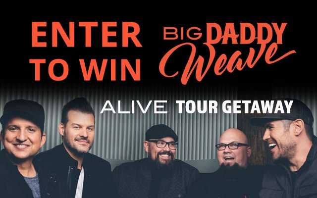 Win A Big Daddy Weave Getaway Experience 590 Am The Word