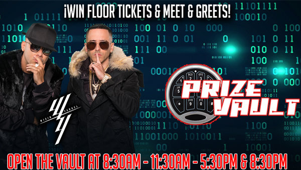 None -  Wisin & Yandel Prize Vault Clues!