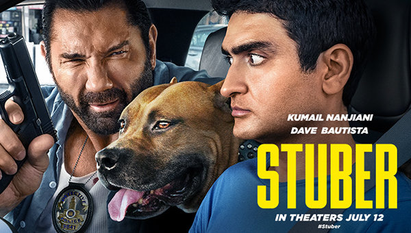 None - Register to win tickets to see the movie Stuber!