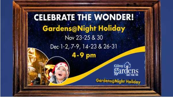 None -  Gilroy Gardens @ Night Promotion!