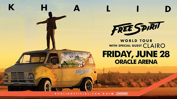None - Khalid Live at Oracle Arena!