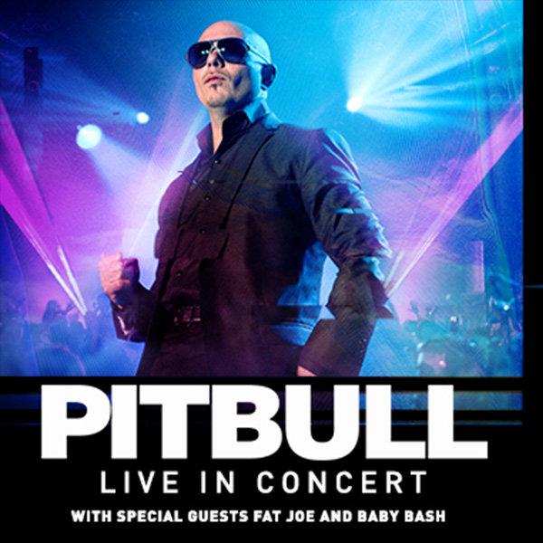 None - See Pitbull Live at Shoreline Amphitheatre!